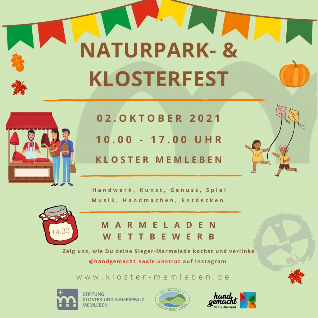 1 Naturpark- und Klosterfest Memleben